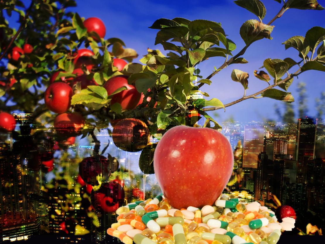 The Apple from Fringe Garden